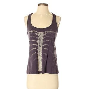 Workshop by Urban Outfitter rib cage tank - S